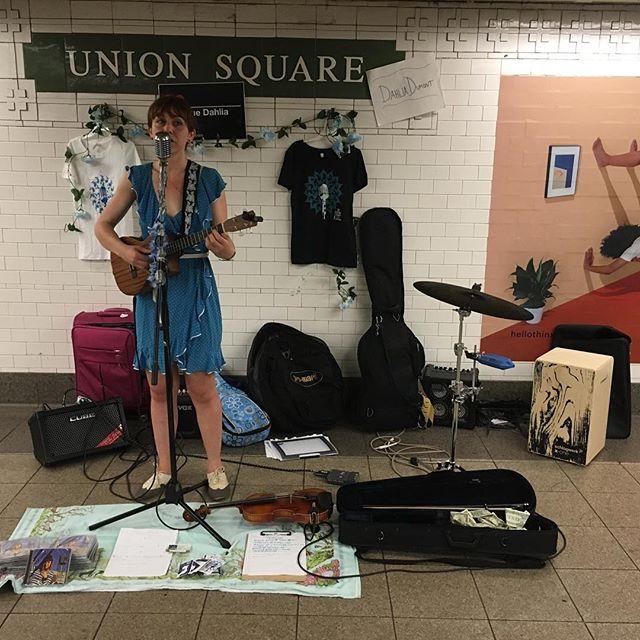 "...""musicians play..."" (Bicoastal Girls - Kathy Sanders)"