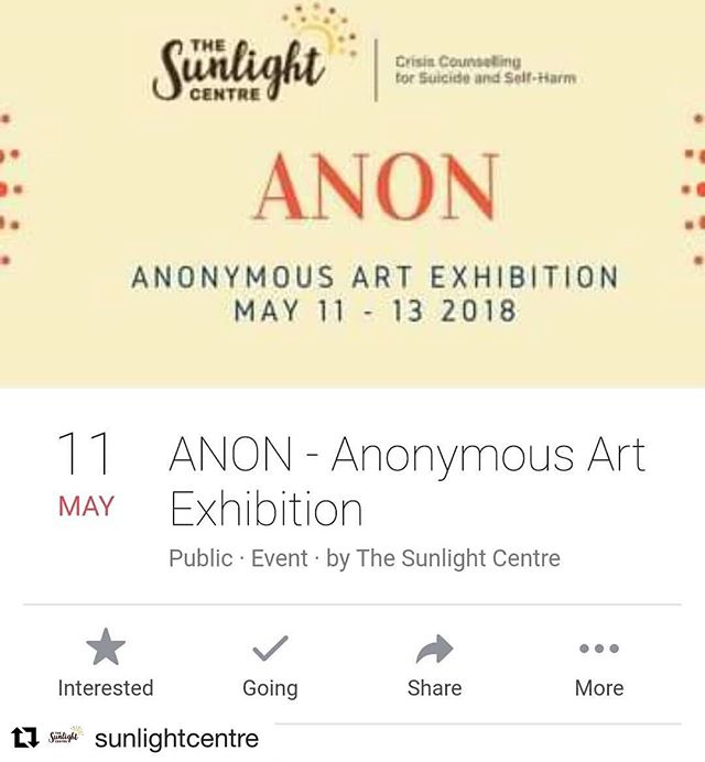 Looking forward to being a part of @sunlightcentre's ANON Art Exhibition! #anonartists #brisbaneartists #handmade