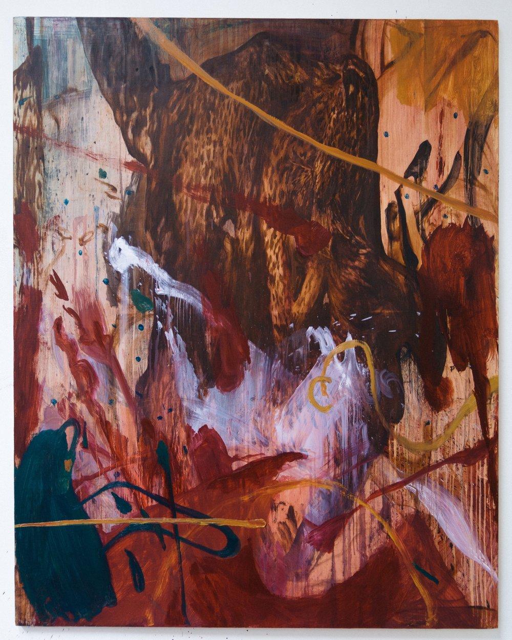 Composition 1006a , 2017  Oil on canvas  150 x 120 cm
