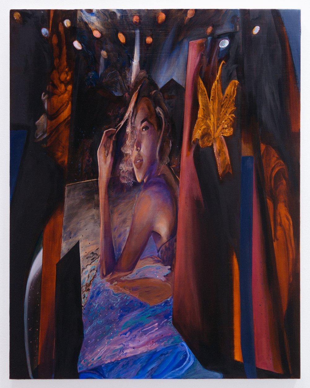 American Gothic pt. ii , 2017  Oil on canvas  90 x 70 cm