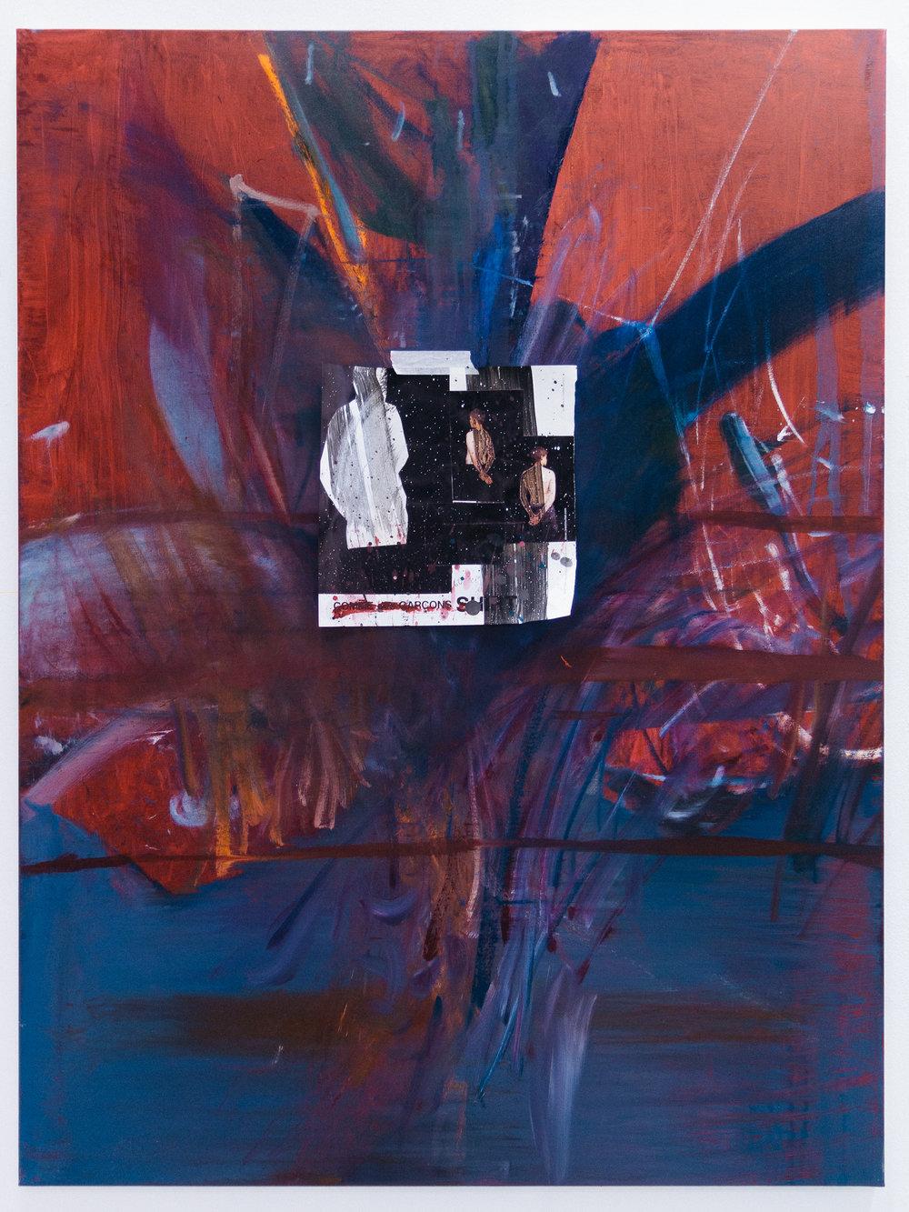 Diptych pt. 3: Firenze , 2017  Oil on canvas  120 x 100 cm