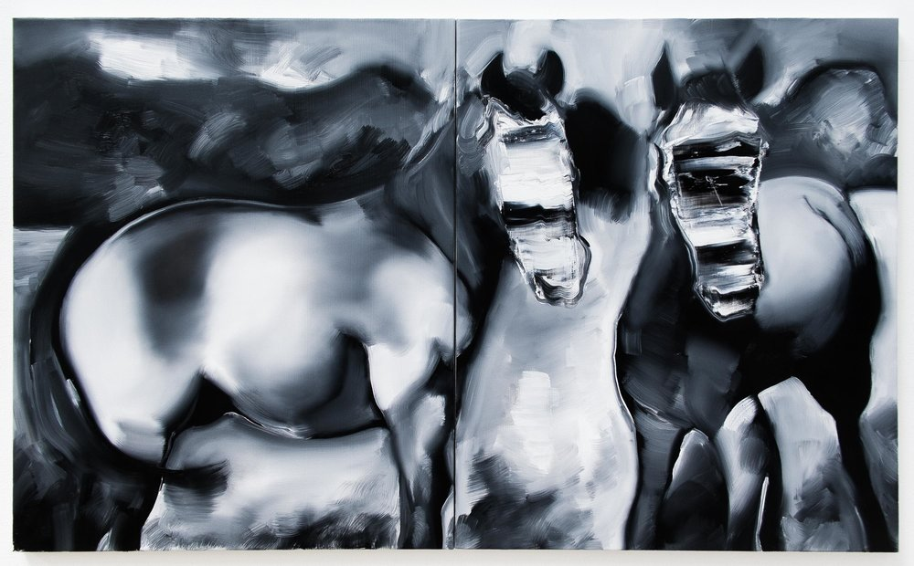 Oil on canvas  60cm x 100cm