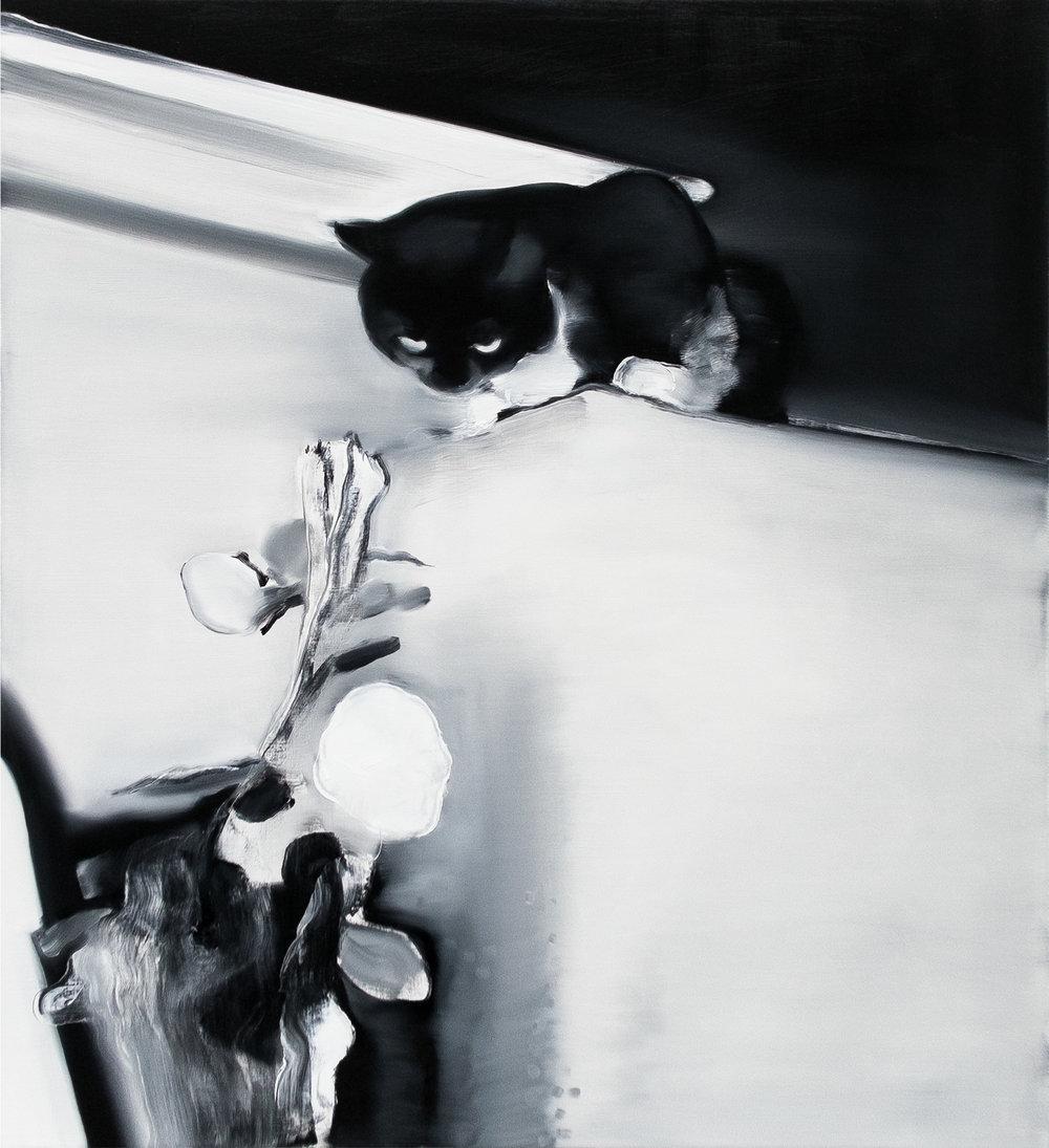 Oil on canvas  80cm x 70cm