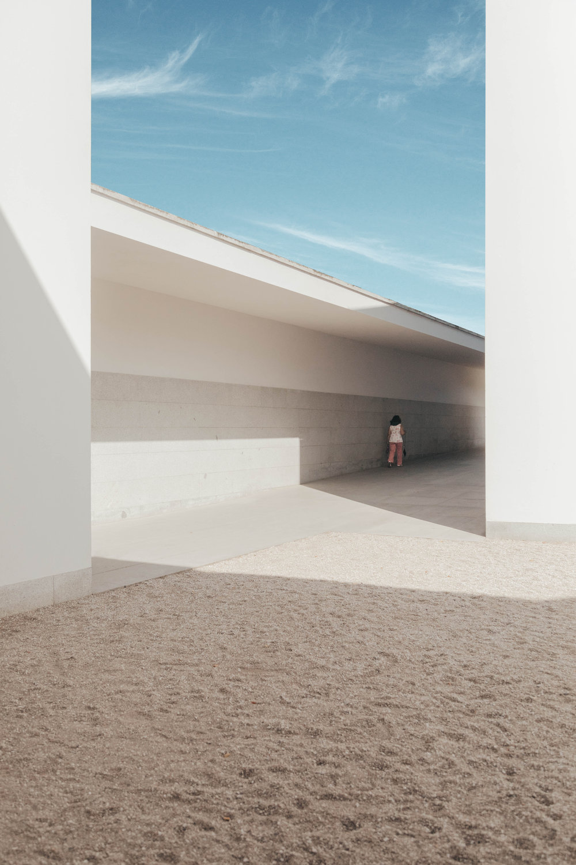 Modern architecture at Serralves