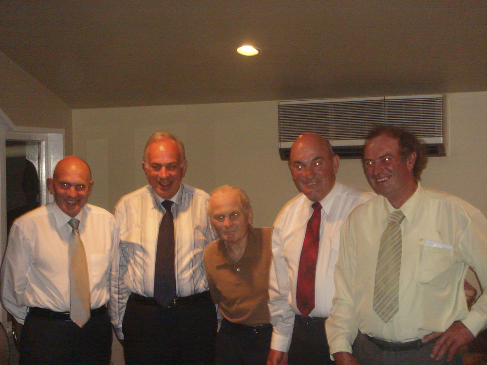 The Men of the Todd Family, 2008