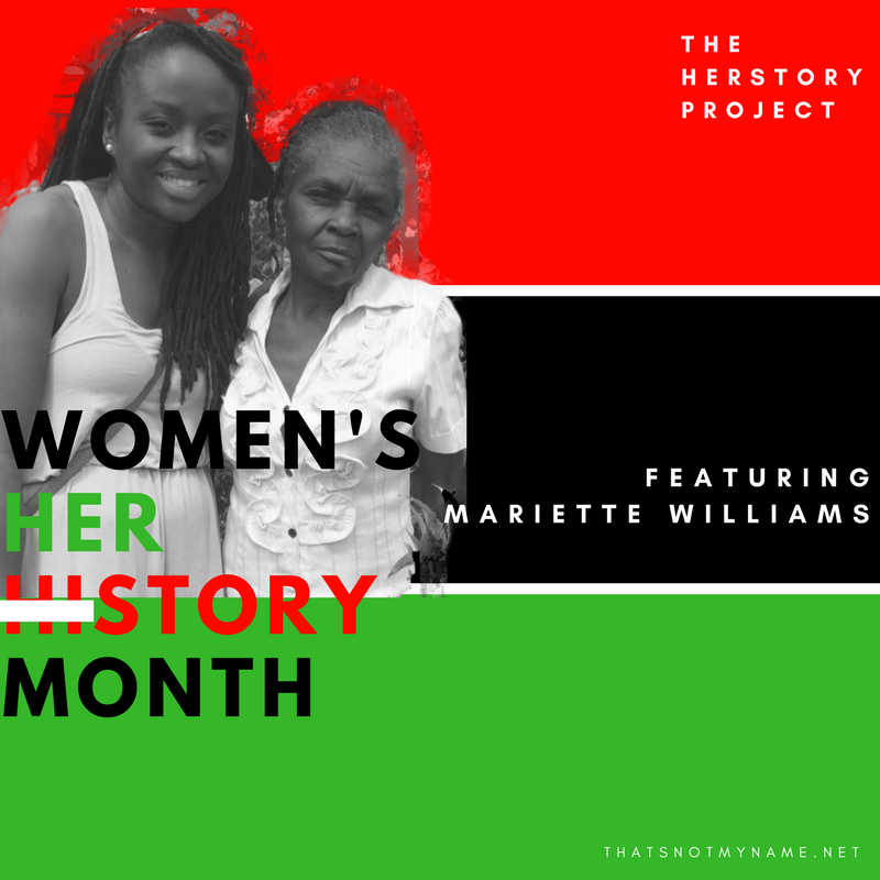 Our First Official Feature #TheHerstoryProject