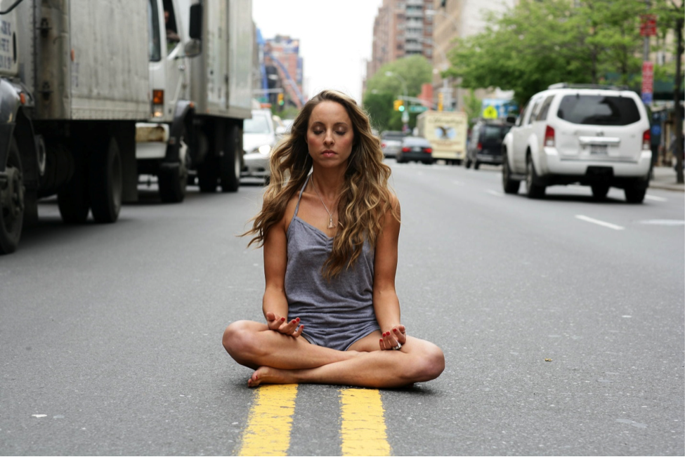 Meditate anywhere