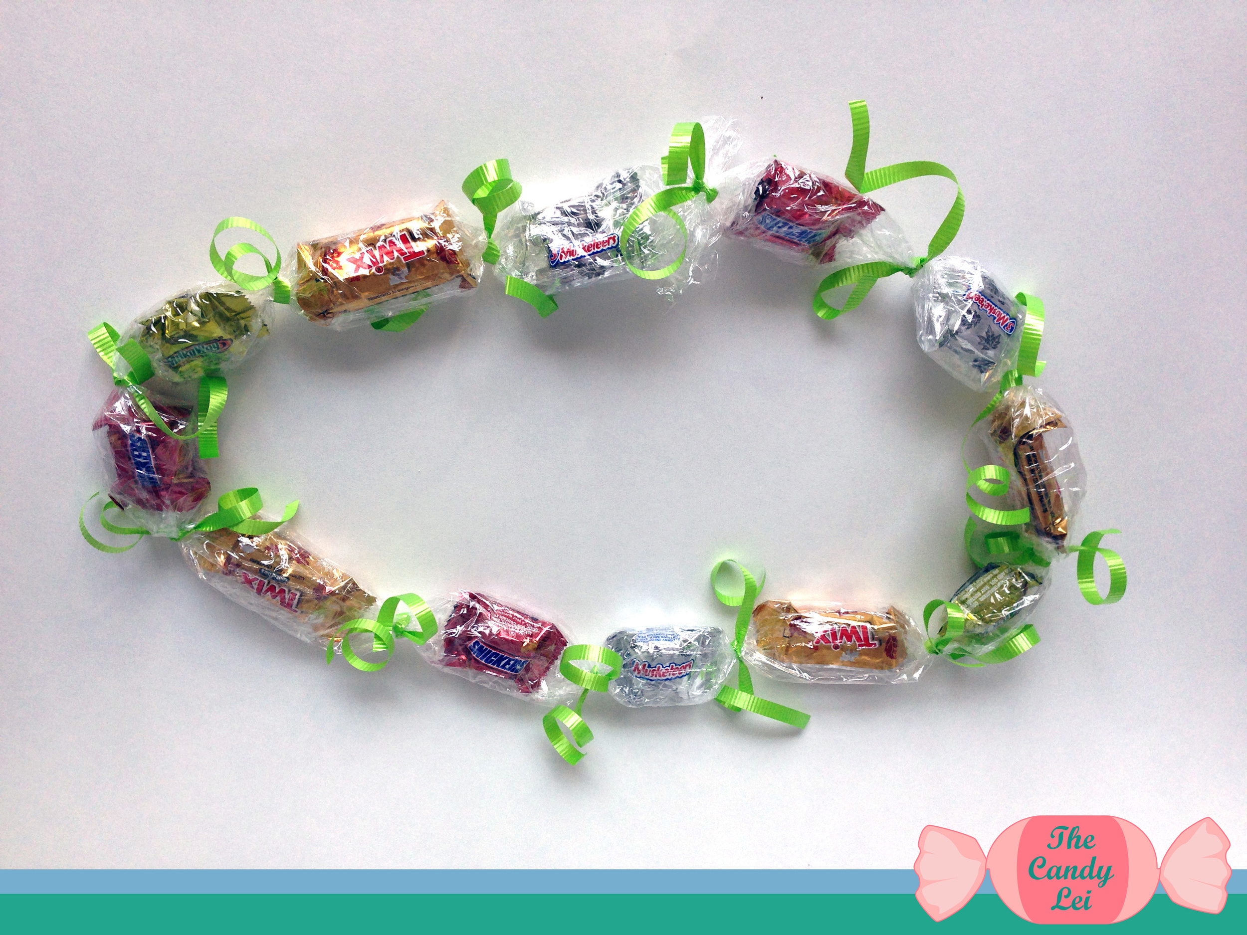 How to Make Candy Leis for Graduation 8