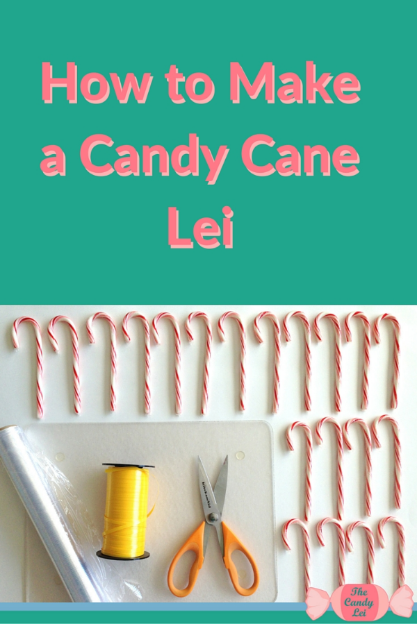 This is an awesome tutorial on how to make a candy cane lei. This would be perfect for a Christmas Party!