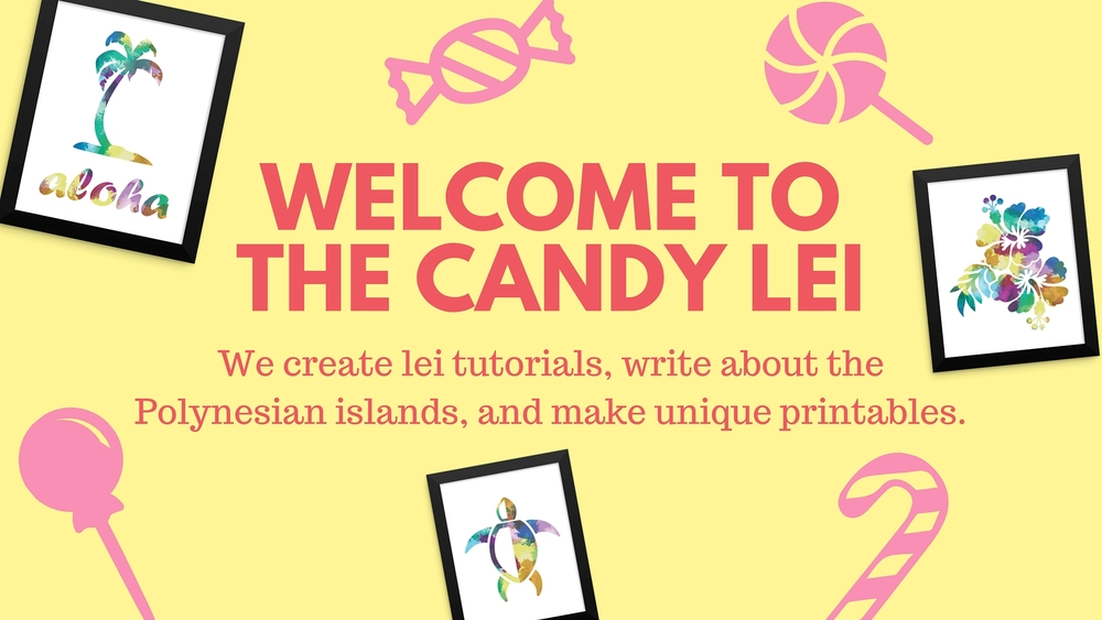 The Candy Lei Home page