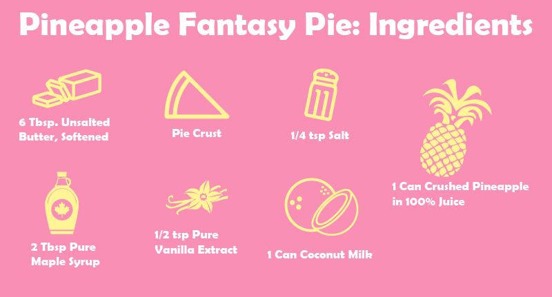 I made this Pineapple fantasy pie for a luau party we had last summer. It was fantastic!