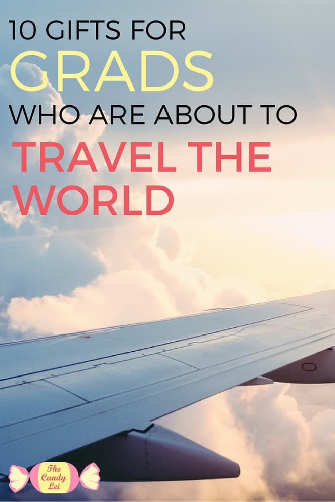 Looking for a graduation gift for a world traveler? Your grad will love this.