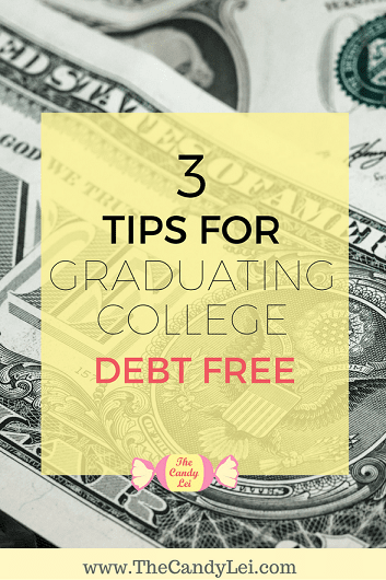 Not sure how you're going to pay for college? Follow these three tips to graduate debt free.