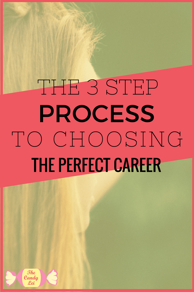 Choosing the perfect career can feel incredibly overwhelming. This 3 step process can help you narrow your focus and find the perfect career for you.