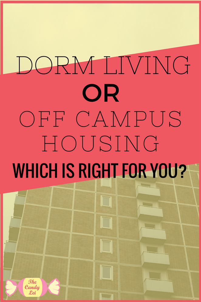 Deciding if I should live in the dorms or in off campus housing was such a difficult choice. This article has some great tips for making the right choice.