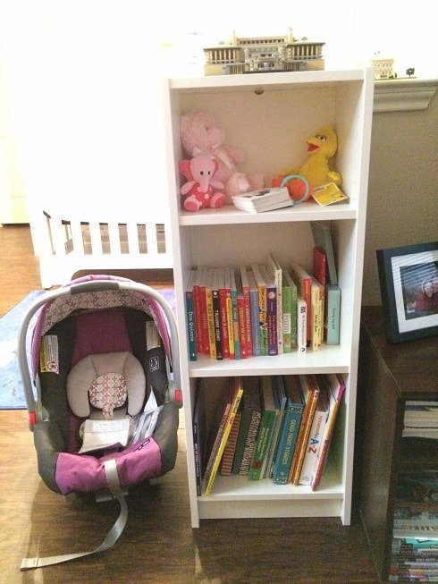 This guide will help you figure out how to fit a nursery in a one bedroom apartment.