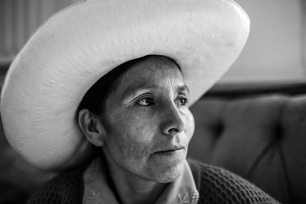 Máxima Acuña de Chaupe, winner of the Goldman Environmental Prize, inadvertently became a symbol of resistance when she refused to sell her 60-acre plot of land in Perú to the largest gold-mining project in South America.