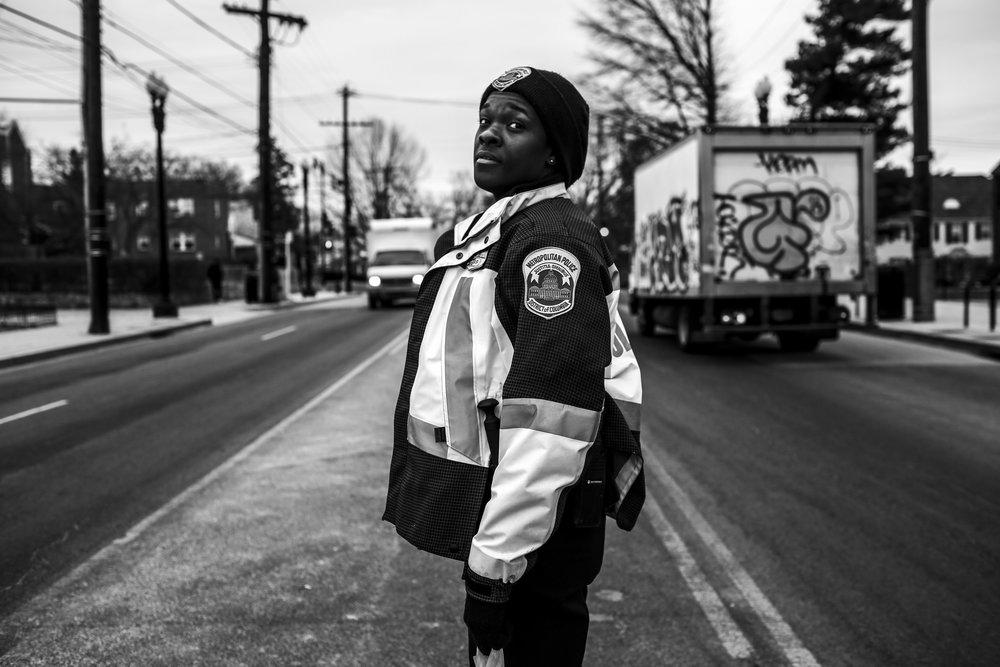 Tiara walks her beat in Southeast D.C.