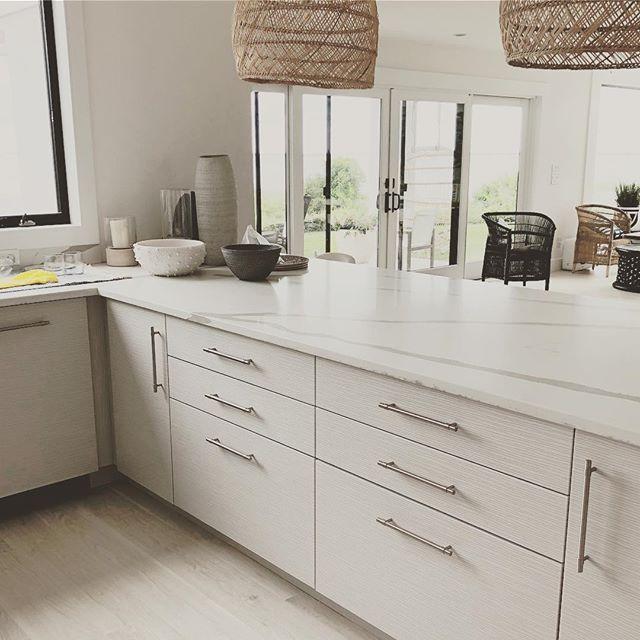 @cstudiointeriors kitchen design for hampton bays modern beach house.