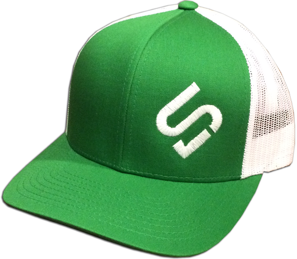 Green/White Mesh