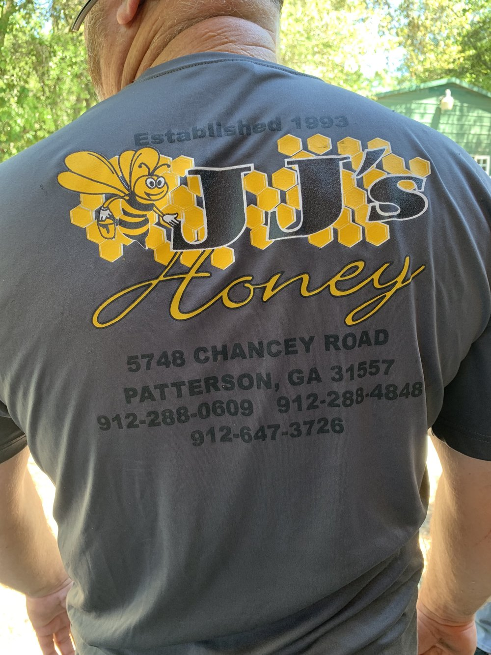 JJ's Honey Farm Patterson Georgia Gaiser Bee Co