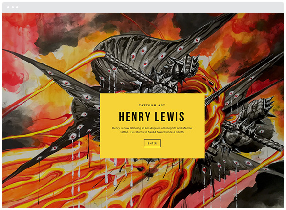 Henry Lewis   •  Los Angeles