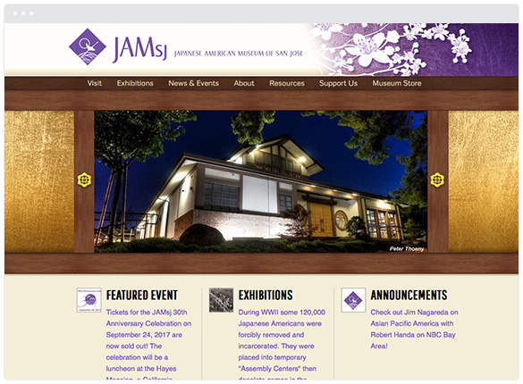 Japanese American Museum of San Jose  • San Jose