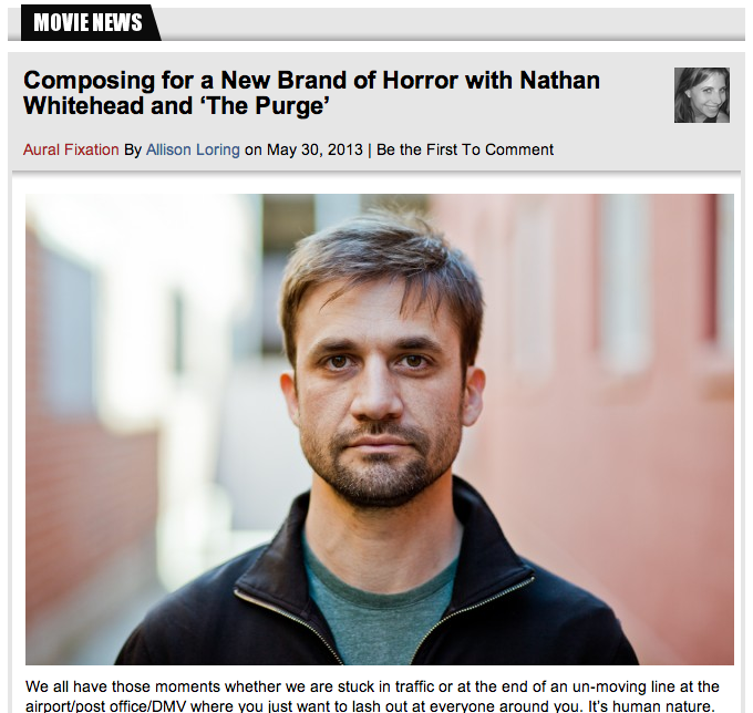 FSR interview for 'The Purge'