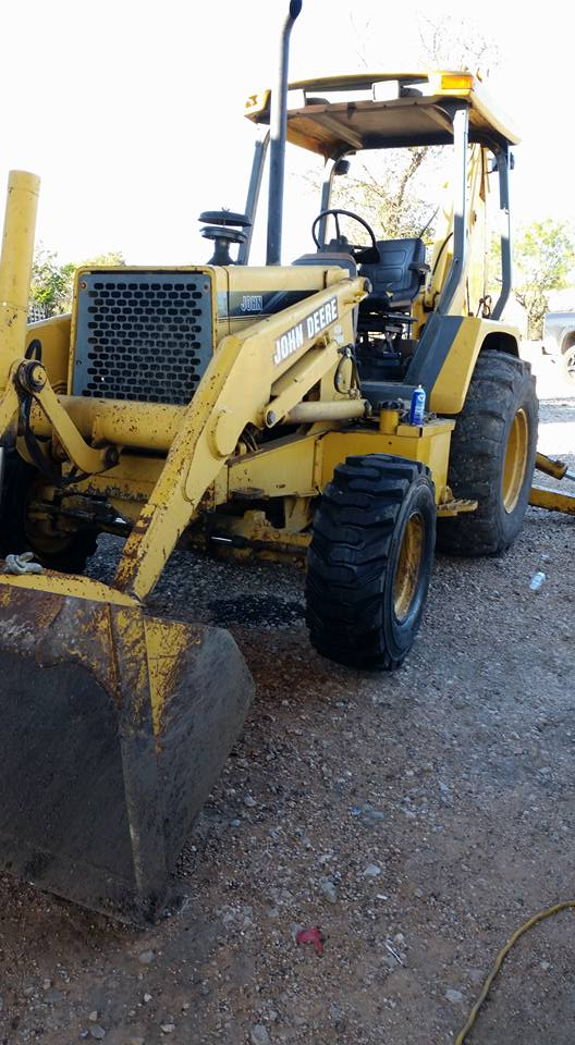 JD 310D Backhoe Transmission Rebuilt