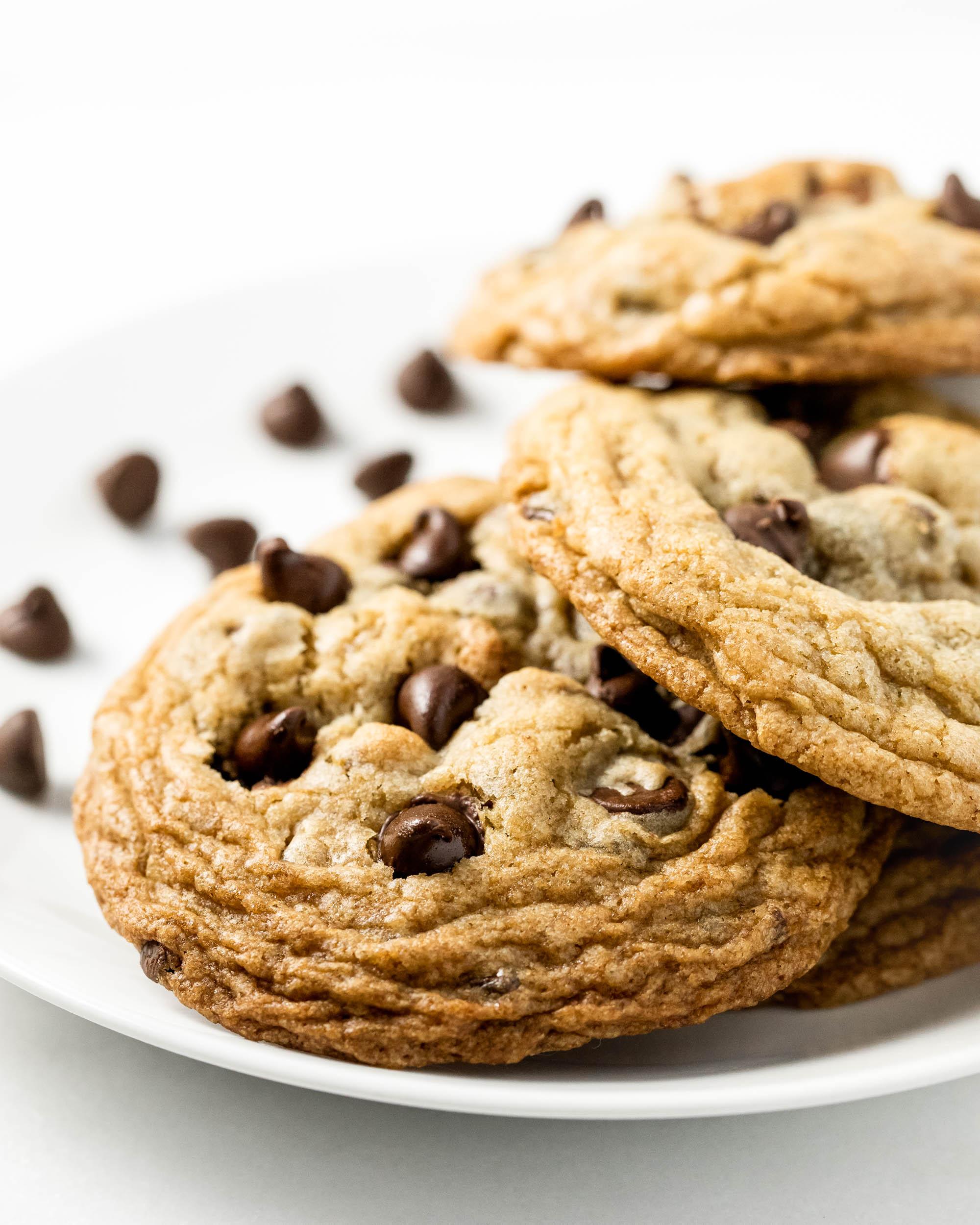 Chocolate Chip Cookies — Crinkly Cookie