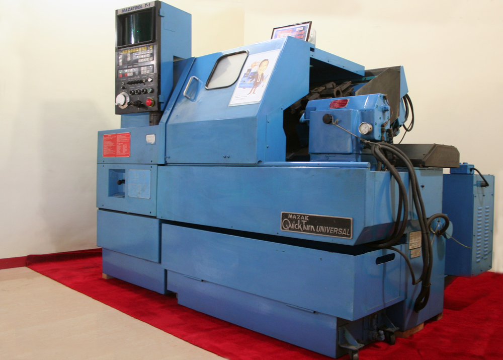 The very first mazak cnc lathe in the philippines, brought in by peter lee during his 50th birthday