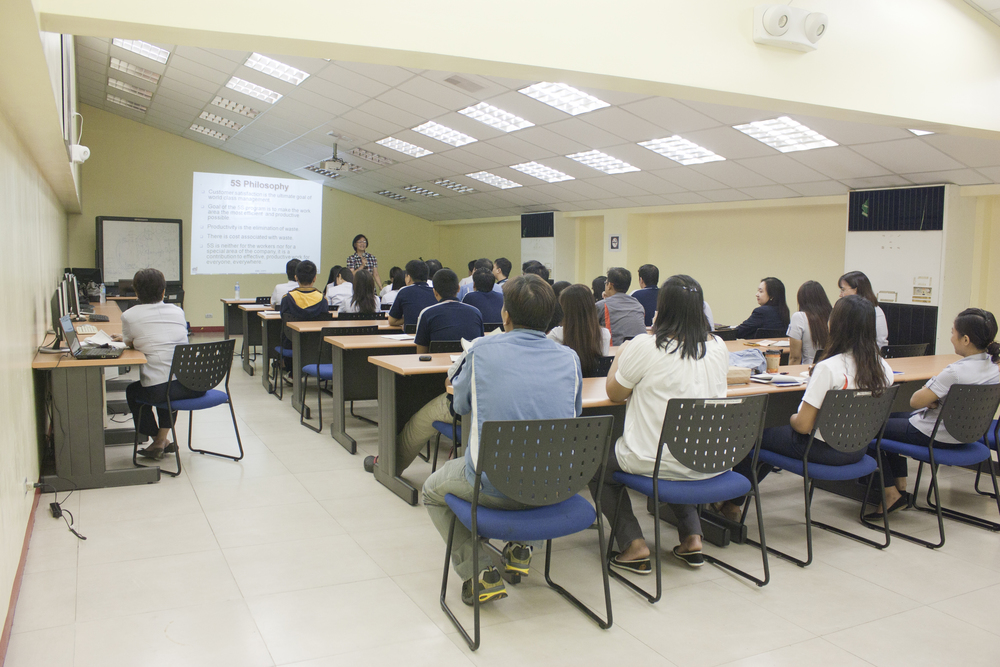 MESCO's seminar room has a seating capacity of 70 persons