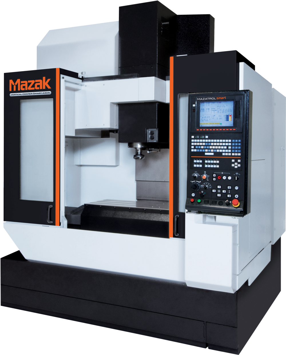 Mazak vcs430A: 2.5-Axis cnc machining center