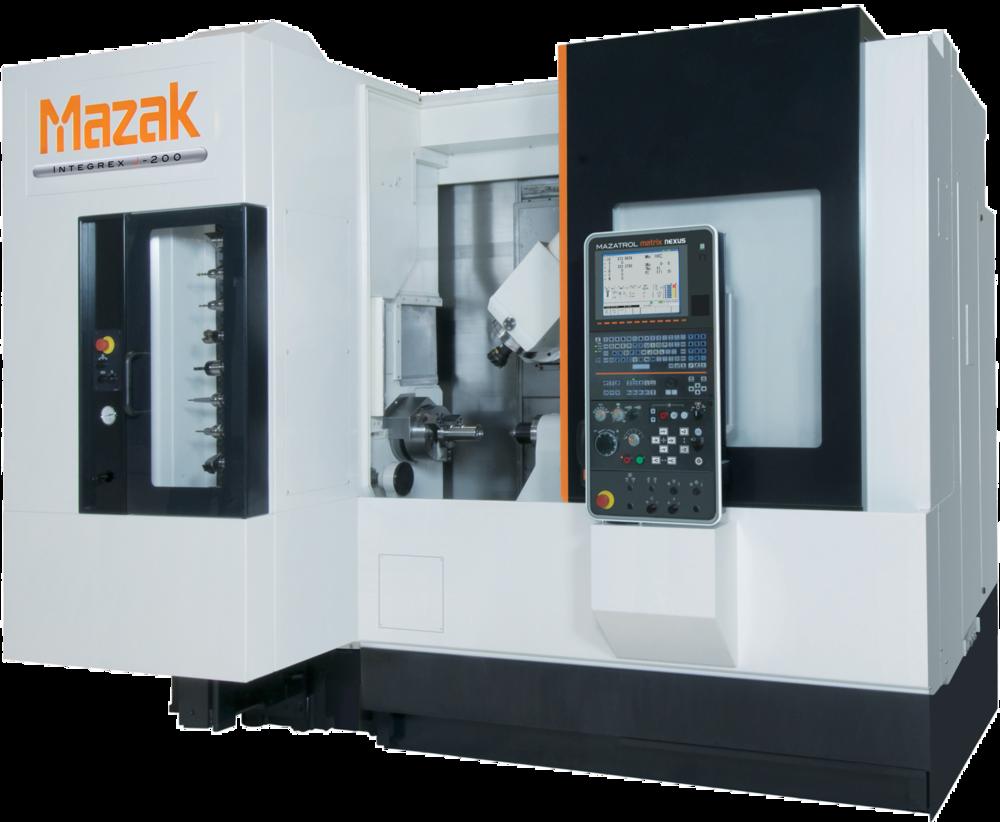Mazak INT-j200: 5-axis cnc lathe