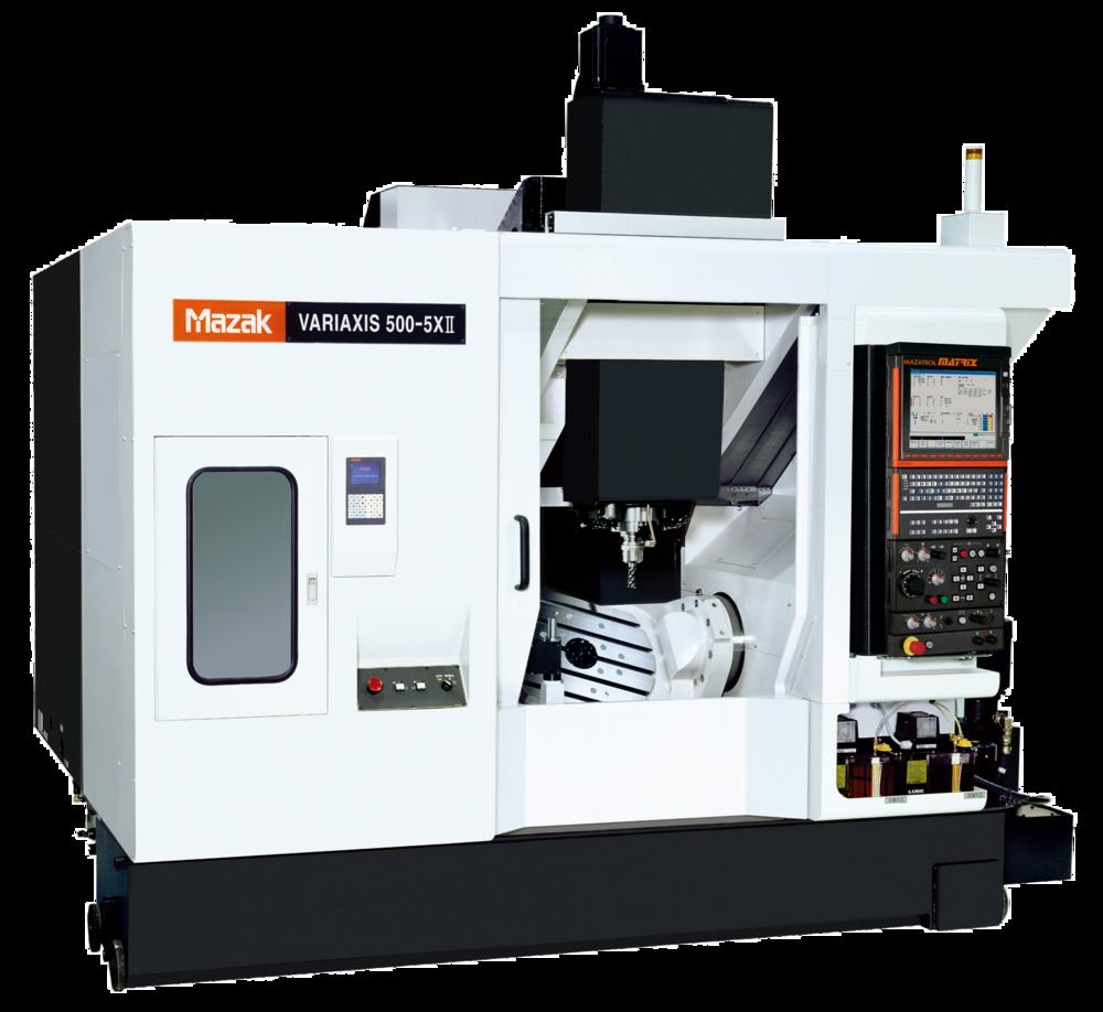 Mazak vrx500-5xii: 5-axis cnc machining center