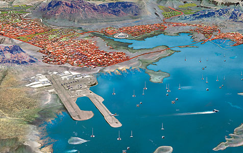 Grand designs in Lake Argyle city vision