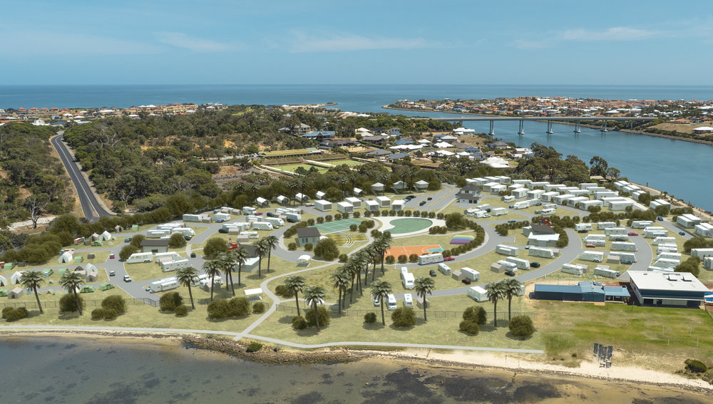 Innovative Tourist Caravan Park Designs