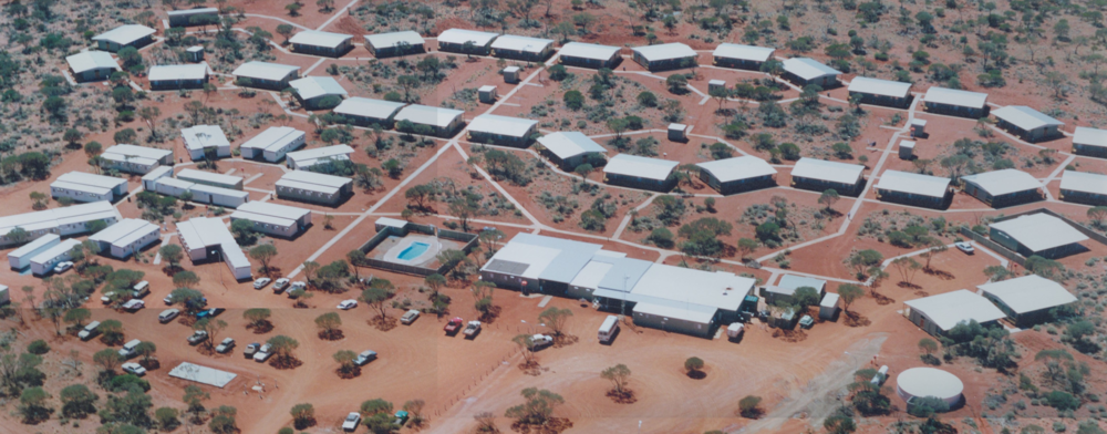 Typical Remote Area Mining Camp