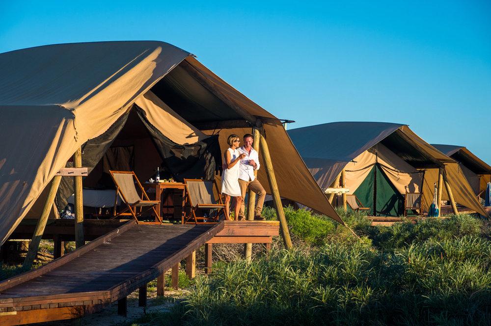 Safari Tent Glamping Accommodation
