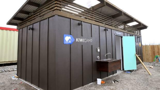 Kiwi Camp pay-as-you-go unit