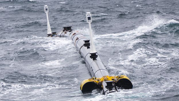 Part of boom in ocean trials