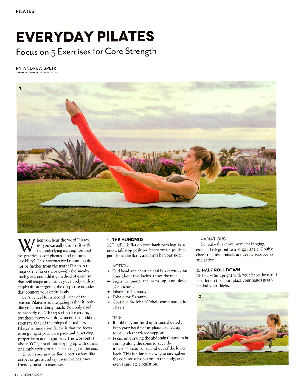 February 2016 - LA YOGA press 1- Speir Pilates.jpg