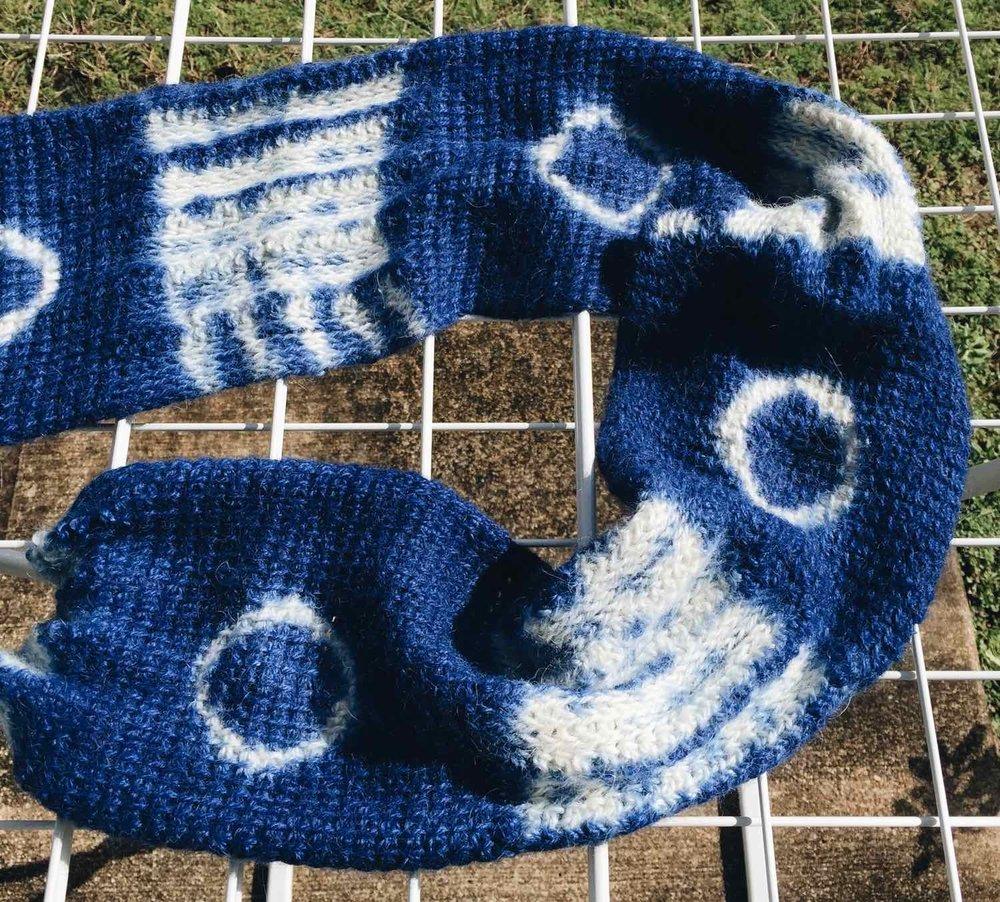 Dyed Alpaca Fabric