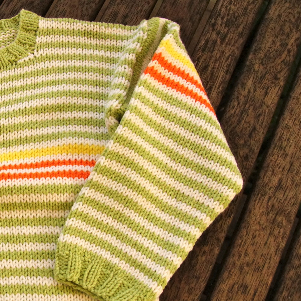 Stripy Jumper