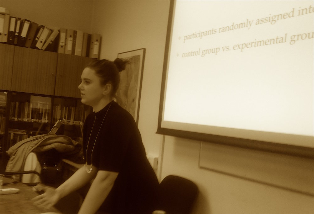Ana Benje, 20/10/16, Research seminar