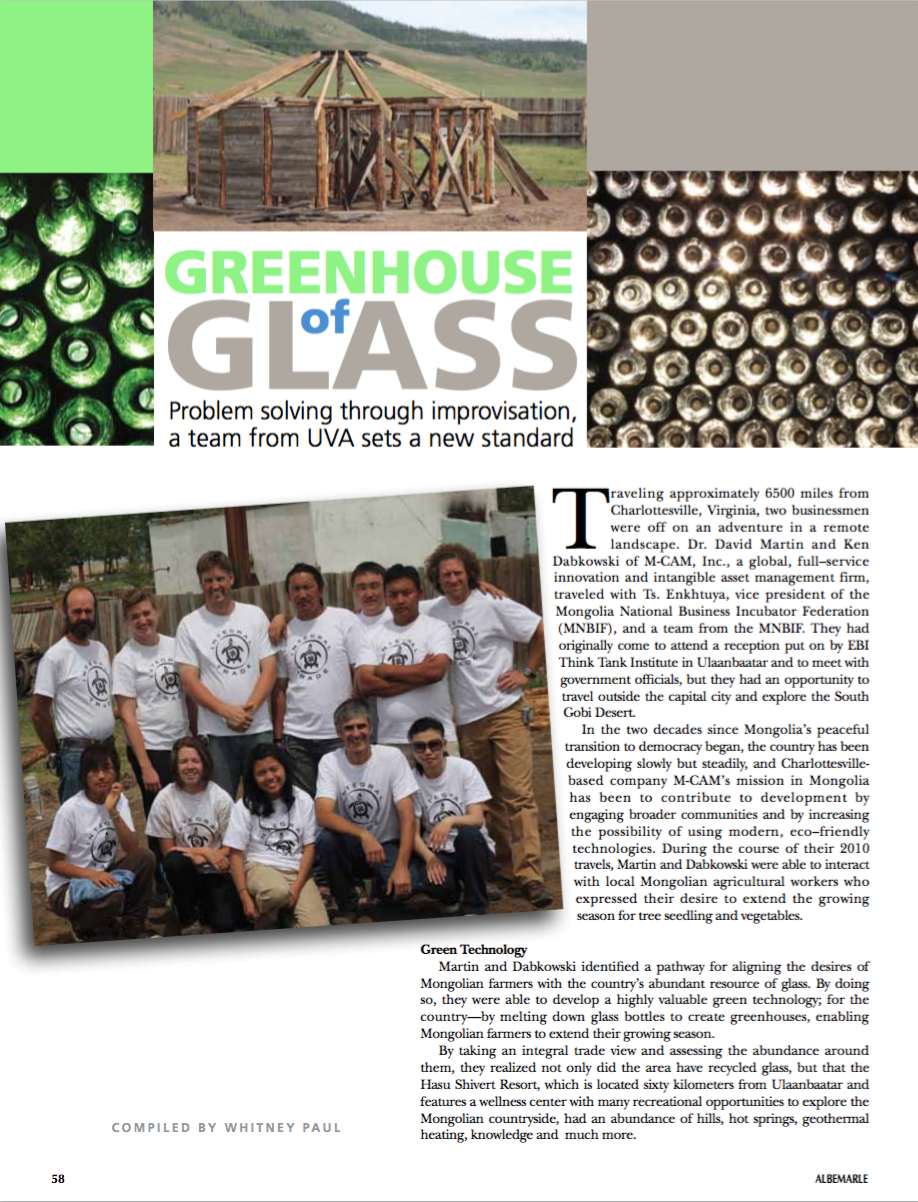 The greenhouse crozet - Read The Full Story