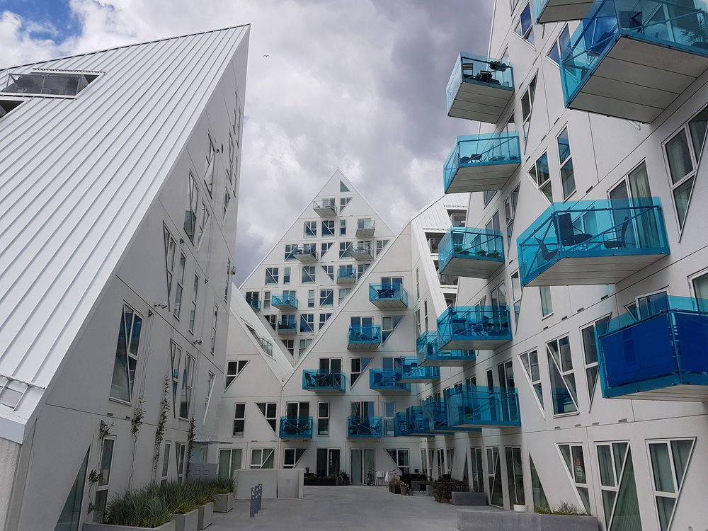 Isbjerget apartments in Aarhus by CEBRA, JDS Architects, Louis Pollard Architects and SeARCH