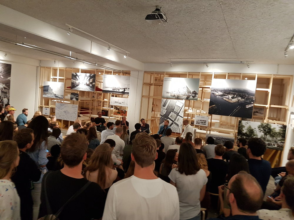 Book launch event at Cobe Architects