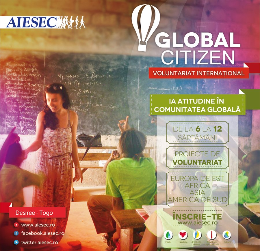 Global Citizen, Aiesec 2007-present