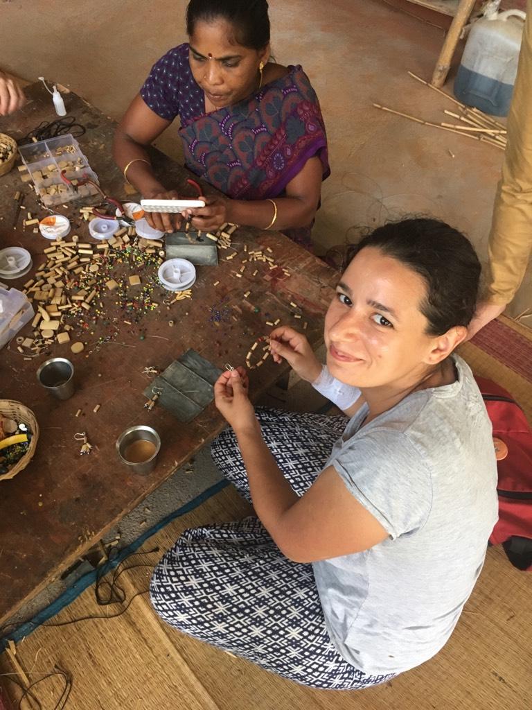 Workshop de bijuterie în bambus